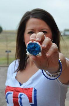 Blue Velvet Cake Balls