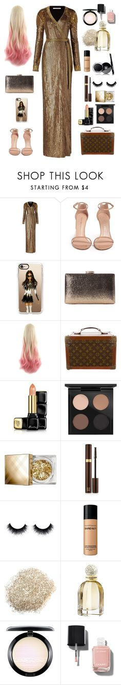 """""""I e6 s2 ce"""" by alexiouq ❤ liked on Polyvore featuring Diane Von Furstenberg, Stuart Weitzman, Casetify, Louis Vuitton, Guerlain, MAC Cosmetics, Burberry, Tom Ford, Chanel and Bare Escentuals"""