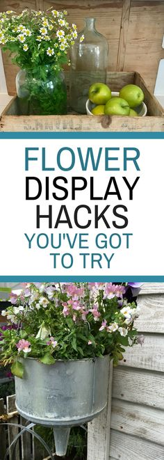 Flower Display Secrets You've Got to Try - Ideas on how to make the most out of your flower displays!