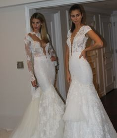 BERTA models rocking it at the NY Bridal Market ;-) <3