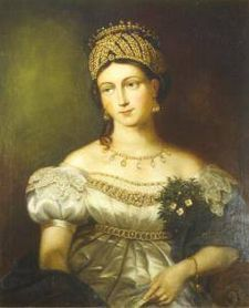 1800 Princess Louise of Saxe Gotha altenburg wife of Ernest I Duke of Saxe and Mother inlaw to Queen Victoria