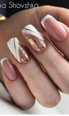 2019 2020 novelty and trends in manicure page 63 of 119 Gel Nail Designs . - 2019 2020 novelty and trends in manicure page 63 of 119 Gel Nail Designs 2020 Gallery 2019 2 - Square Nail Designs, Gel Nail Designs, Simple Nail Designs, Nails Design, Pretty Nail Art, Beautiful Nail Art, Gorgeous Nails, Nude Nails, My Nails