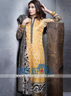Sana Safinaz Lawn Collection 2014 for Women   by www.dressrepublic.com