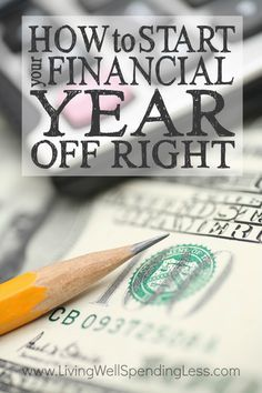 How to Start Your Financial Year Off Right