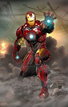 Iron Man by jasonbaroody on DeviantArt Comic Book Characters, Comic Book Heroes, Marvel Characters, Comic Character, Comic Books Art, Comic Art, Marvel Comics Art, Marvel Vs, Marvel Heroes