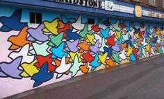 community themed murals | Jennifer Anne Brown