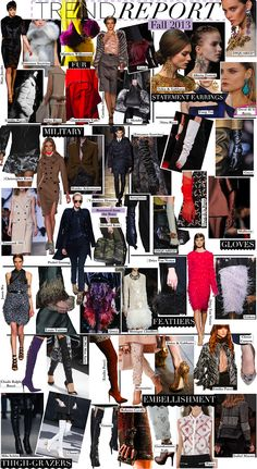 Fall 2013 Fashion Trend Report