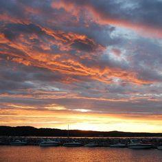 Michigan sunset  (Photo by @jess_clifton)