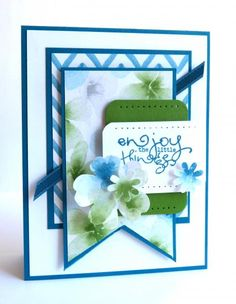 Enjoy the Little Things by Luv Flowers - Cards and Paper Crafts at Splitcoaststampers