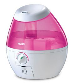 Vicks Mini Filter Free Cool Mist Humidifier in Pink $25.60 (Was $40) - http://www.swaggrabber.com/?p=318504