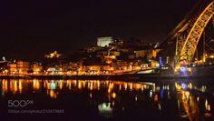 Reflection in Douro / Porto - http://ift.tt/1Ox3sHN Reflection in Douro / Porto