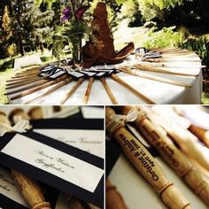 Harry Potter themed Favors and Invitations