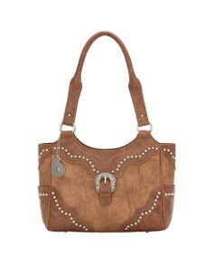 Bandana Women's San Marcos Zip-Top Tote    love the detail and the silver