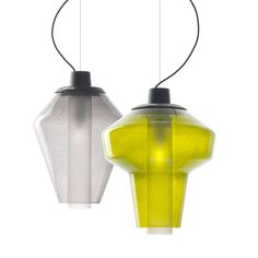 This Metal Glass Pedant Light range is part of the 'Successful Living' collection by Diesel from Foscarini.