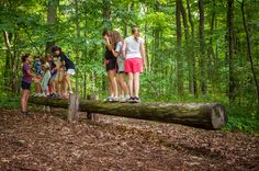low ropes course ideas - Google Search