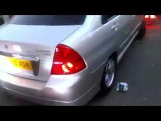 Sound Of Modified Suzuki Liana Engine At Faislabad Auto Show