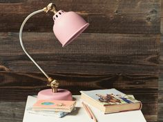 We spent too long tearing out Pantone numbers to get the right pink for this lamp. We reckon your desk and bedside will agree that it was totally worth it! Millenial Pink, Pink Lamp, Lights Fantastic, Small Lamps, Handmade Table, Comfy Sofa, Kids Bedroom, Bedroom Ideas, Beautiful Bedrooms