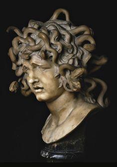 Bernini Gian Lorenzo     Testa di Medusa, XVII d.C.