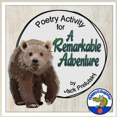 Poetry Activity for Back to School! Goes with A Remarkable Adventure by Jack Prelutsky. At the beginning of the year, read a… Back To School Poem, Beginning Of The School Year, Back To School Activities, Middle School, Poetry Activities, Easel Activities, Teaching Activities, Teaching Tools, Teaching Ideas