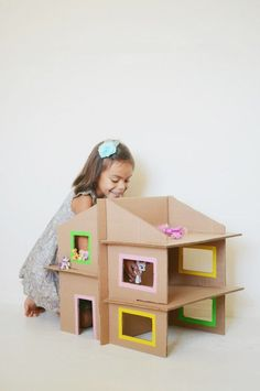 10 DIY Cardboard Toys to Inspire Playtime