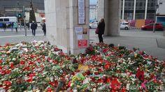 Auch jenseits des Breitscheidplatzes gedenken die Bürger der Toten und Verletzten des Mordanschlages vom 19.12.2016