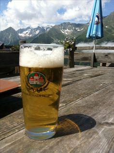 Beer in Stubaital, 2012.07.04