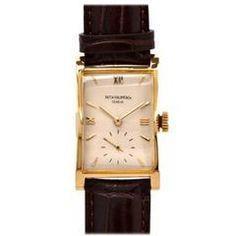 Patek Philippe Yellow Gold Pagoda Wristwatch Ref 1588J