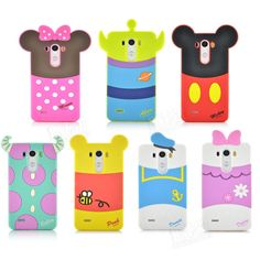 New Arrival Pretty Cute Cartoon Soft Silicon Phone Cover Case For LG G3 in Cases, Covers & Skins | eBay