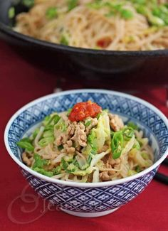 Dan Dan Mien and Book Launch Party for Steamy Kitchen's Healthy Asian Favorites (Giveaway) ~ http://jeanetteshealthyliving.com
