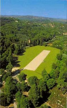 The Stadium.. Ancient Olympia, Greece