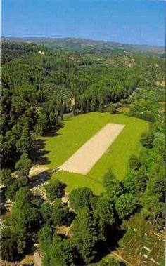 The Stadium.. Ancient Olympia, Greece