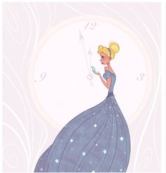 """Cinderella"" Disney fanart. Another commission work"