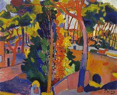 André Derain was a French artist, painter, sculptor and co-founder of Fauvism with Henri Matisse Andre Derain, Georges Braque, Henri Matisse, Raoul Dufy, Art Fauvisme, Maurice De Vlaminck, Art Français, Post Impressionism, Paul Cezanne
