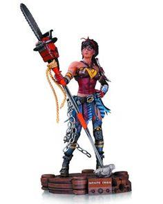 Infinite Crisis Atomic Wonder Woman Statue