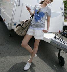 Korea Womens Apparel. Popular clothing sales. [SSUNNY] #koreafashionshop #Fashion_women #korea #dailylook #dailyfashion #T_shirts #dress #tops #blouse #cardigan #outwear #skirt #pants #basic_item #shoes #bag #jewelry #acc #whitepants #裤子 #パンツ Kitchener pants / Size : S,M,L / Price : 20.71 USD