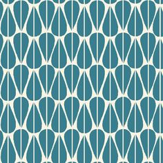 Little Leaves Teal Organic Canvas Fabric by Monaluna Textiles, Textile Patterns, Print Patterns, Geometric Patterns, Islamic Patterns, Textile Design, Stash Fabrics, Giant Knit Blanket, Teal Fabric