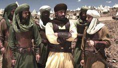 "Mehyar Khaddour as Khalid Ibn Al Walid in ""Omar "" TV Series"