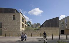 Alison Brooks Architects _ Cambridge _ Accordia _ Sky Villas from Aberdeen Avenue