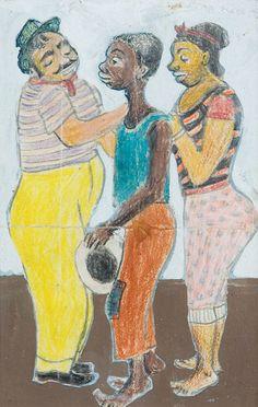 Samba(1954) - Gouache on Paper - Fulvio Pannacchi.