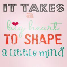 Se requiere un gran corazón para moldear las mentes de los pequeños. Feliz día…
