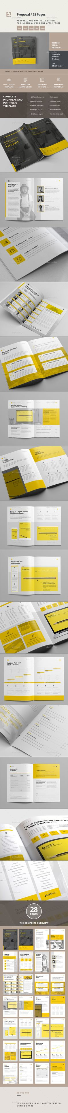 proposal template for word%0A Sleman Clean Proposal Template Volume     Proposals  Cleanses and Stationery