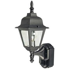 Hampton Bay Stockholm 1 Light Outdoor Satin Bronze Post Light Y7064 34 The Home Depot
