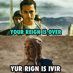 Take that, masters...  #GameofThrones  #Daenerys