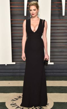 Kate Upton from Vanity Fair Oscars Party 2016: What the Stars Wore  In Victoria Beckham