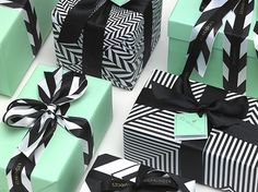 Packaging design for London's Claridge's hotel. Designed by Construct. Love the color scheme and pattern!