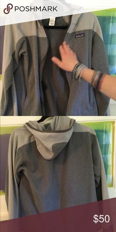 Gray Patagonia. Men's small fleece hoodie. Men's small Patagonia fleece hoodie. Patagonia Jackets & Coats Puffers