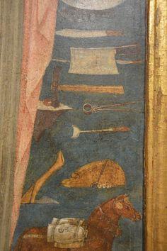 GUIDOCCIO COZZARELLI (Siena, n. 1450 c. - m. 1517) Santa Caterina d'Alessandria (dett.) tavola 120x60,5 cm; 1475-1500 c. Pinacoteca Nazionale di Siena, inv. 297 (dett.)