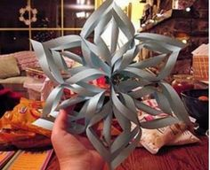 You are going to love making these Paper Snowflakes and we have an easy to follow video tutorial that shows you the step by step instructions.