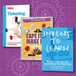 Maker Bookshelf: A starter collection for current and aspiring makebrarians. A selection of titles that support coding, robotics, tinkering, and more maker activities.