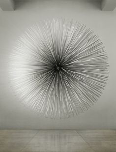 'soft crash' aluminum sound sculpture by Kim Byoungho